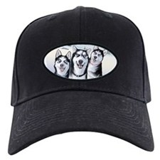 Three Huskies Baseball Hat