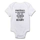 Rugby vs. Football 2 Onesie