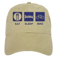 Eat Sleep Ride Baseball Cap