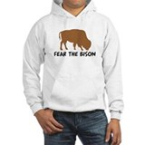 Fear the Bison Hoodie