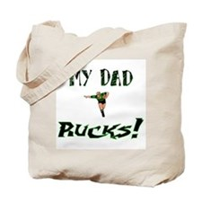 My Dad Rucks Tote Bag
