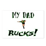 My Dad Rucks Postcards (Package of 8)
