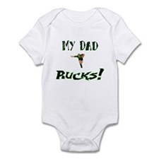 My Dad Rucks Infant Bodysuit