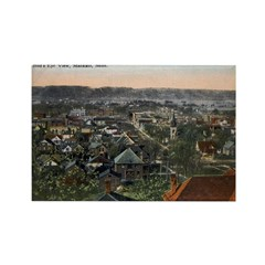 1910 Birds Eye View of Mankato Rectangle Magnet