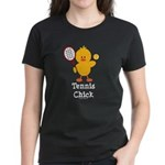 Tennis Chick Women's Dark T-Shirt