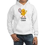 Tennis Chick Hooded Sweatshirt