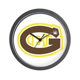 GB logo - Curious stlye1 Wall Clock