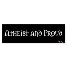 Atheist and Proud
