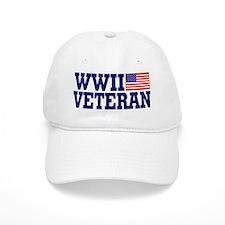 WWII VETERAN Baseball Cap