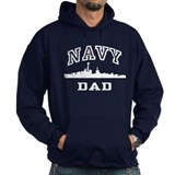 Navy Dad Hoody