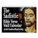 Our Sadistic Lord's 2013 Bible Verse Wall Calendar