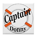 CAPTAIN DONNY Tile Coaster