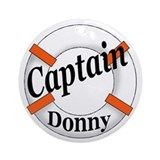 CAPTAIN DONNY Ornament (Round)