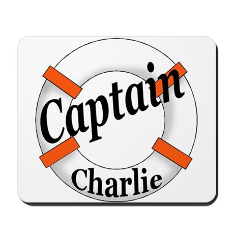 CAPTAIN CHARLIE Mousepad