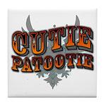 Cutie Patootie Tile Coaster