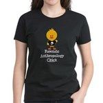 Forensic Anthropology Chick Women's Dark T-Shirt