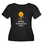 Forensic Anthropology Chick Women's Plus Size Scoo