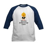 Forensic Anthropology Chick Kids Baseball Jersey