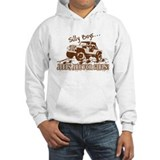 Silly Boys... Jeeps are for Girls! Hoodie Sweatshirt