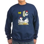 Chicken Family Sweatshirt (dark)