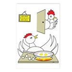 Chicken Family Postcards (Package of 8)