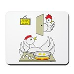 Chicken Family Mousepad