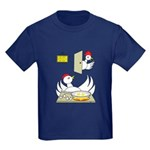 Chicken Family Kids Dark T-Shirt
