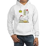 Chicken Family Hooded Sweatshirt