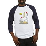Chicken Family Baseball Jersey
