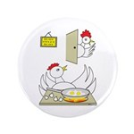 "Chicken Family 3.5"" Button (100 pack)"