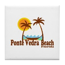 Ponte Vedra Beach FL - Sun and Palm Trees Design T
