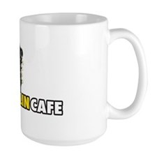 Large Mandolin Cafe Logo Coffee Mug