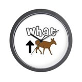 WHAT UP DOE ~ Wall Clock
