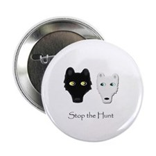 "Stop the Hunt 2.25"" Button"
