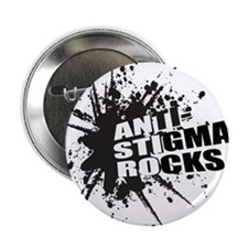 "Anti-Stigma Rocks 2.25"" Button"