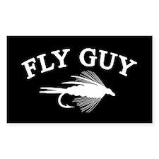 FLY GUY Rectangle Sticker 50 pk)