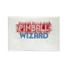 Pinball Wizard Rectangle Magnet