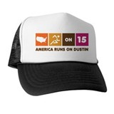 America Runs On Dustin Hat