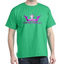 Camping Princess - Hot Pink T-Shirt