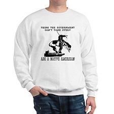 Ask A Native American Sweatshirt