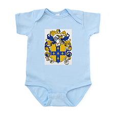 Garter Coat of Arms Infant Creeper
