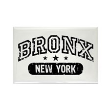 Bronx New York Rectangle Magnet
