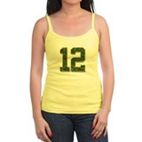 12 Aaron Rodgers Packer Marbl Tank Top