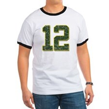 12 Aaron Rodgers Packer Marbl T