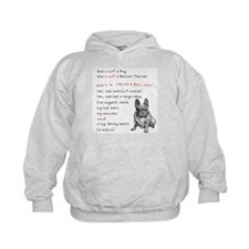 SHE'S not a Pug! (Serious) Hoodie
