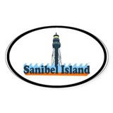 Sanibel Island FL - Lighthouse Design Decal
