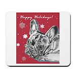 Frenchie Holiday Mousepad