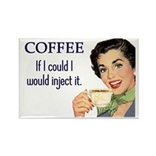 Coffee Junkie Fridge Magnet