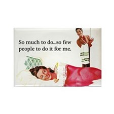 Lazy Bitch Fridge Magnet