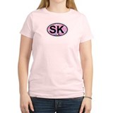 Siesta Key FL - Oval Design T-Shirt